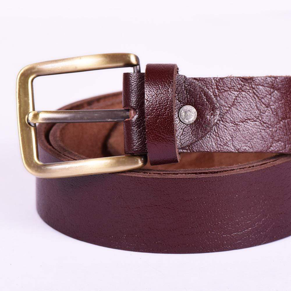 Stone Harbor Men's Belt 42 Inches Stone Harbor Men's Volter Leather Belt