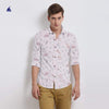 Stone Harbor Long Sleeve Allover Printed Pocket Casual Shirt