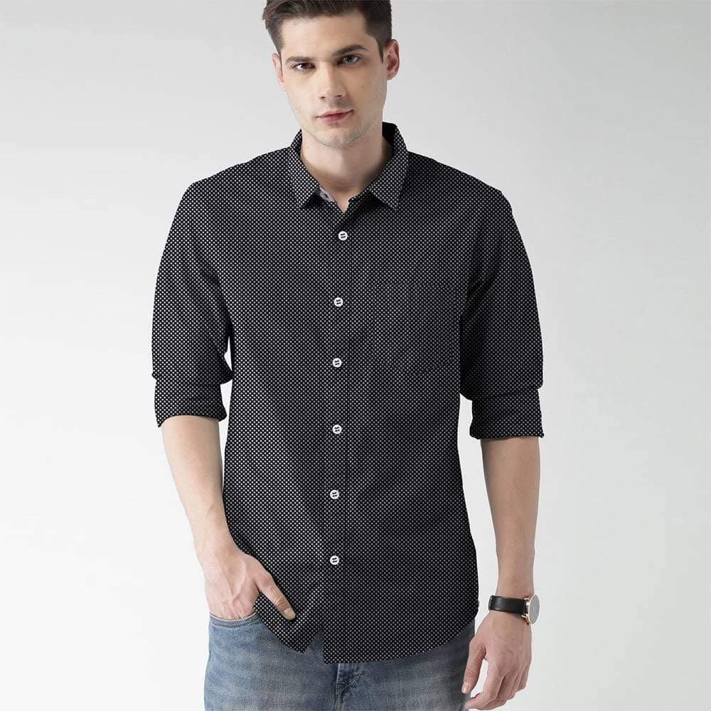 Stone Harbor Men's Casual Shirt Black / S STONE HARBOR SLIM FIT DIMO CASUAL SHIRT