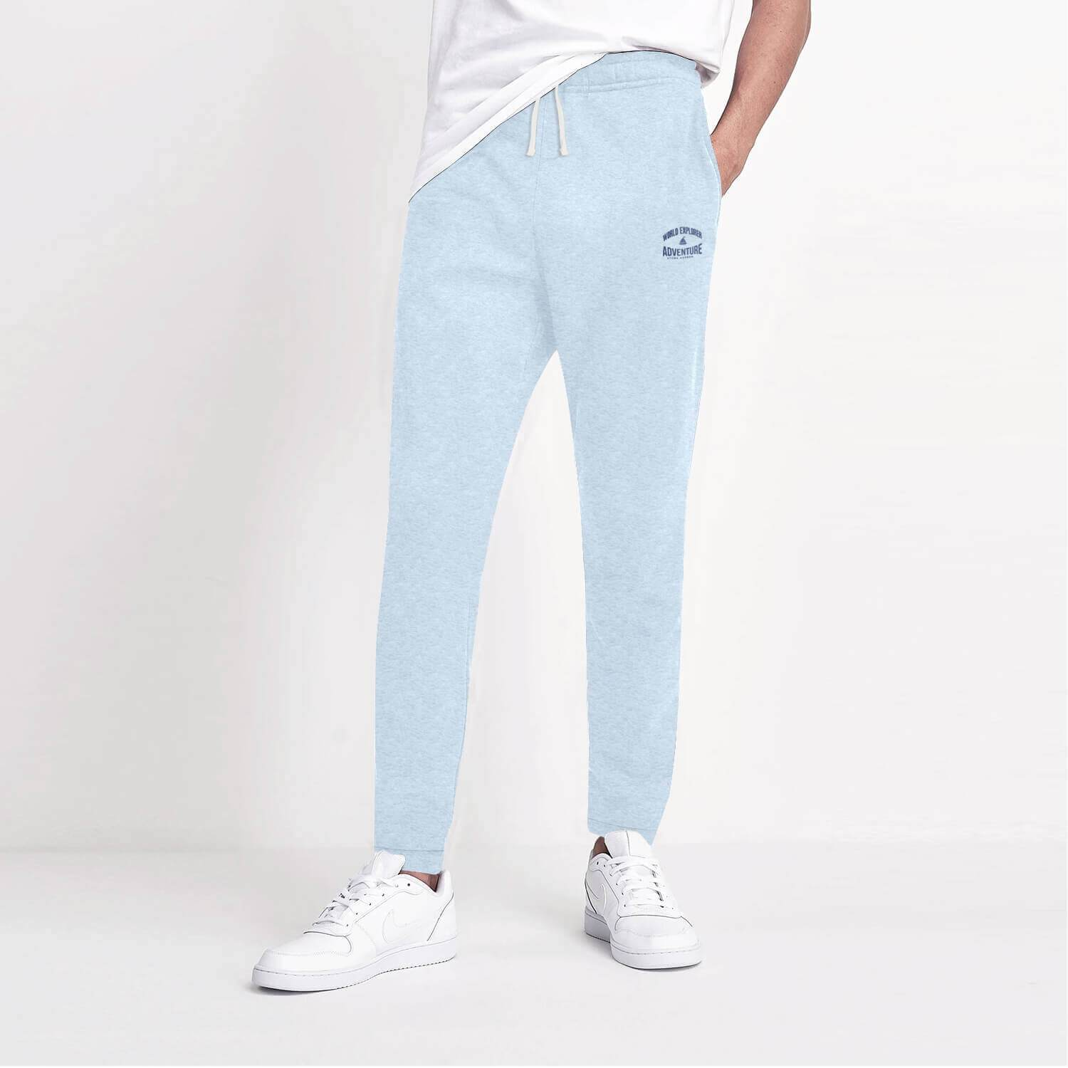 Stone Harbor Men's Jogger Sky / S STONE HARBOR SLIM FIT WORLD ADV LOUNGE WEAR