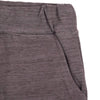 STONE HARBOR MEN`S CHARCOAL MARL SHORTS