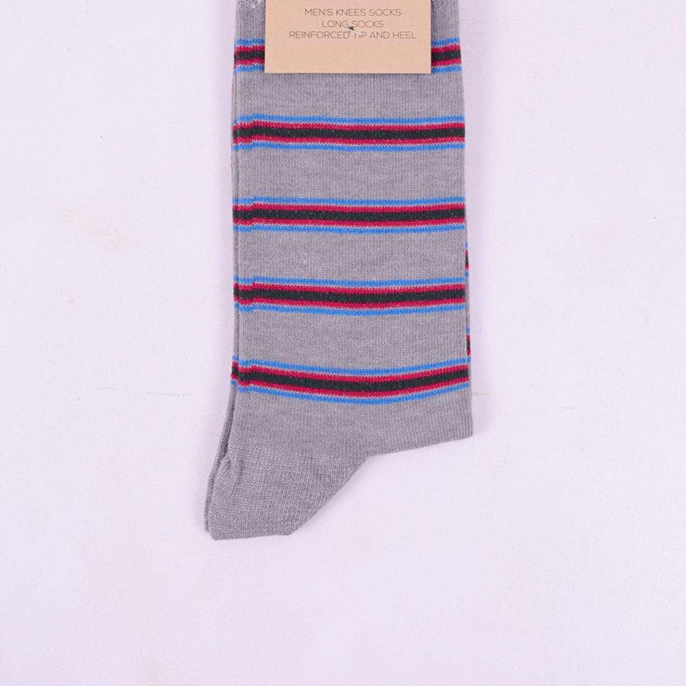 Stone Harbor Men's Socks Men's Stone Harbor Red Striping Long Socks