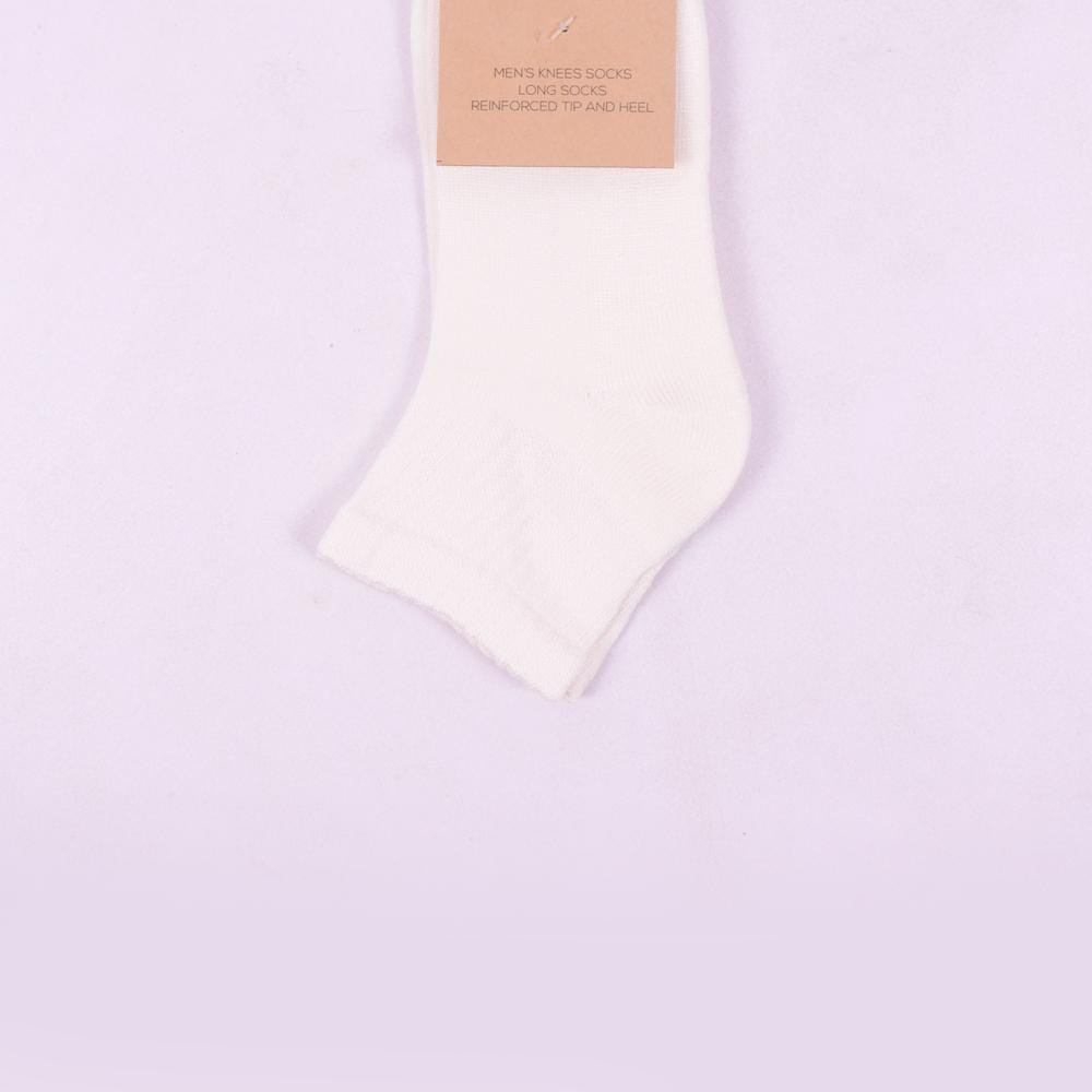 Stone Harbor Men's Socks Men's Stone Harbor White Ankle Socks