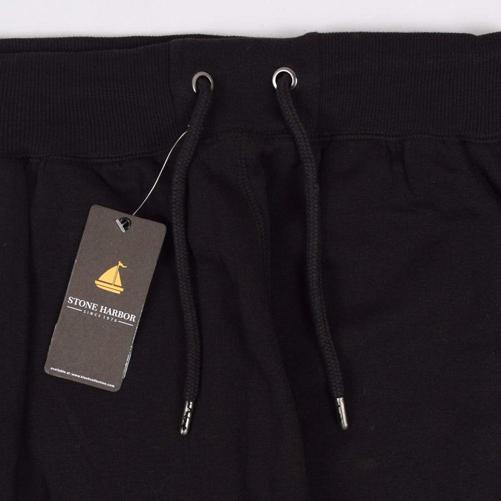 Stone Harbor Men's Sweat Pants Black / S Men's Stone Harbor Jet Black Sweat Pants