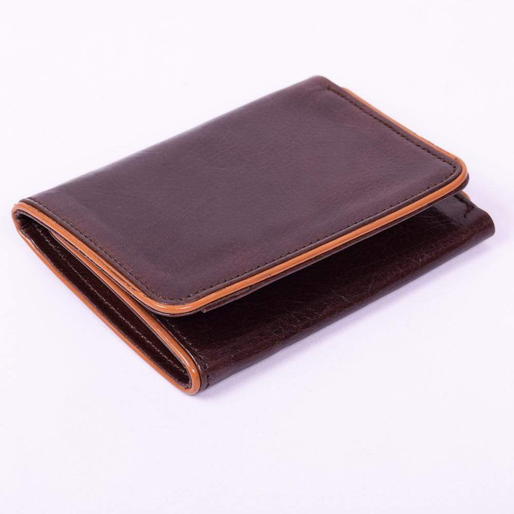 Stone Harbor Men's Wallet Stone Harbor Holid Choc Mens Leather Wallet