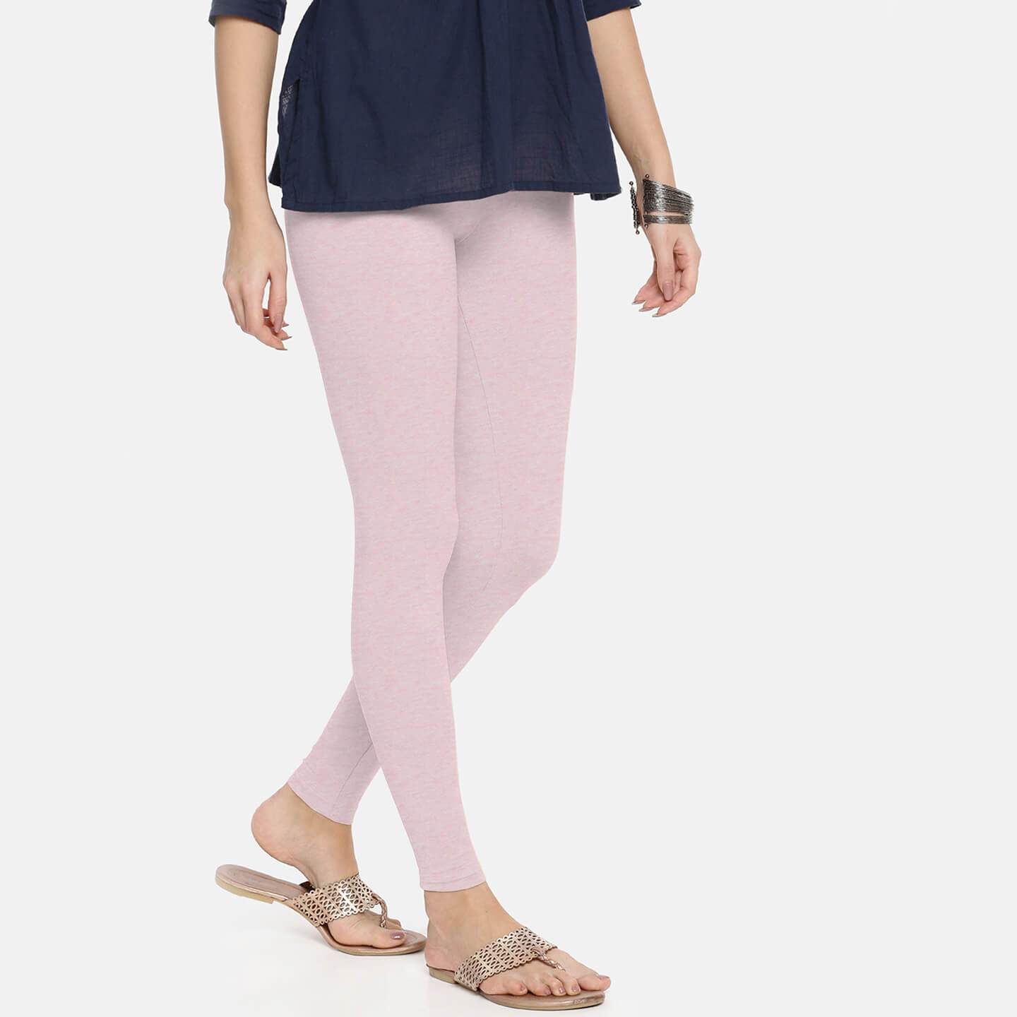 Stone Harbor women Leggings Pink / 10 Stone Harbor PINKER Stretch Jersey Tights