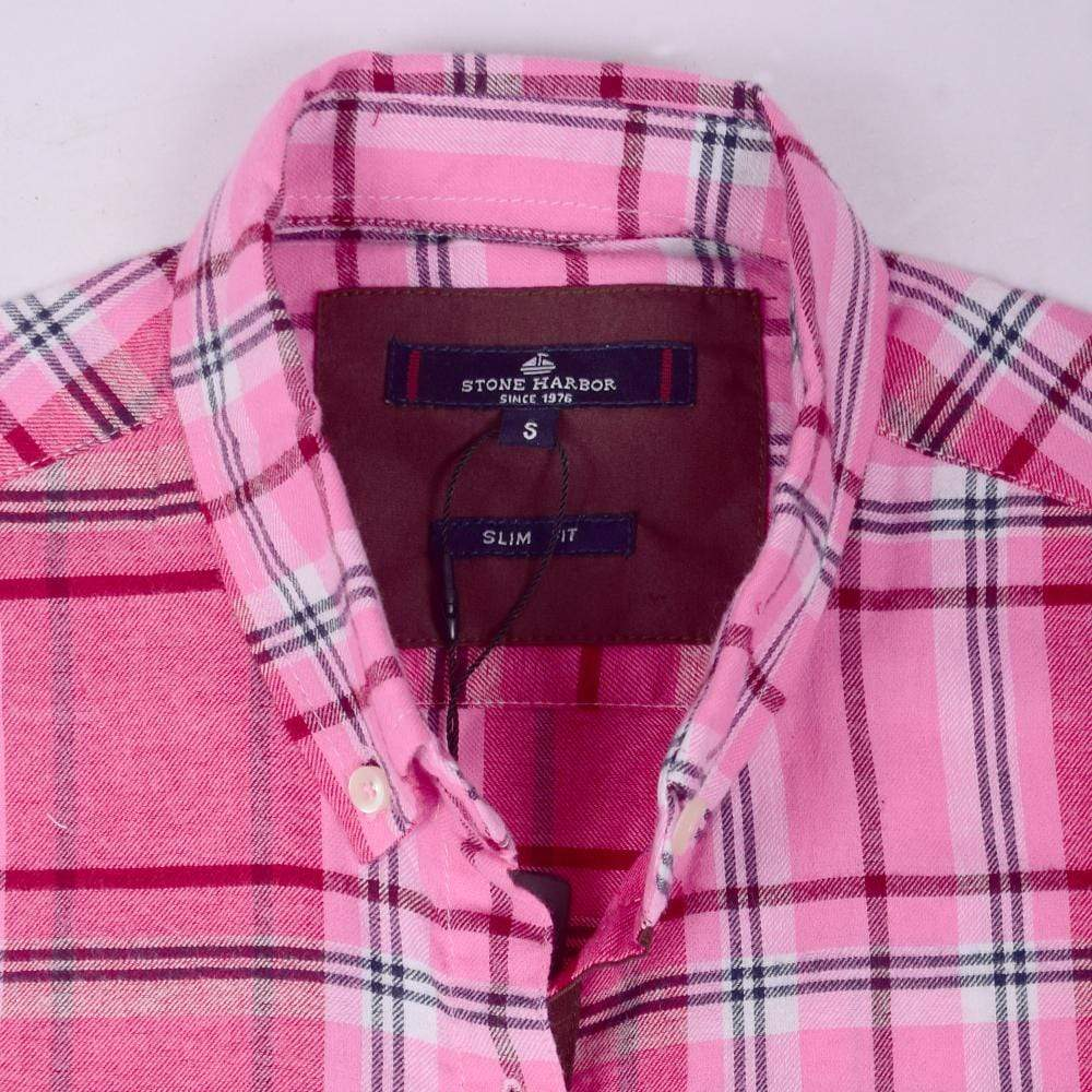 Stone Harbor Women's Top Pink / S Women's Stone Harbor Pink Long Tale Shirt