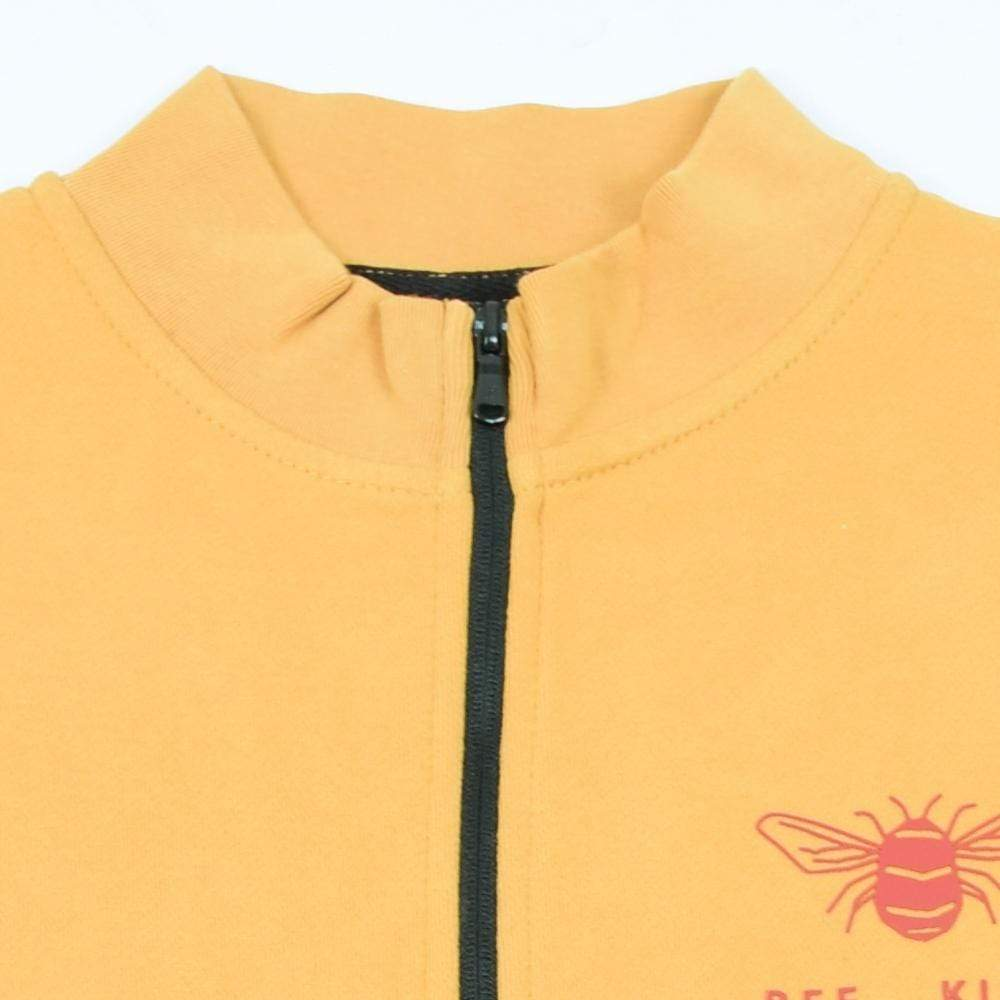 Stone Harbor Women's Zipper Mustard / S-10 Women's STONE HARBOR BEE KIND MOCK NECK ZIPPER