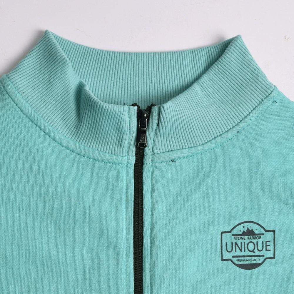 Stone Harbor Women's Zipper Turquoise / S Women's STONE HARBOR MOCK NECK ZIPPER