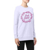 "Stone Harbor Lavendra ""Fresh Start"" Graphic Sweatshirt"