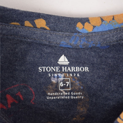 Stone Harbor Axel All over Roar Print T-Shirt - Klashcollection.com