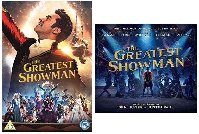 The Greatest Showman Includes Greatest Showman Dvd And