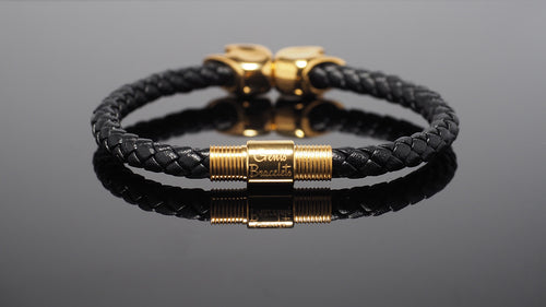 "Gold Bracelet for Men ""Zeus"" - Gentsbracelets UK"