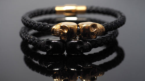 "Leather Bracelets men ""Morpheus Zeus"""