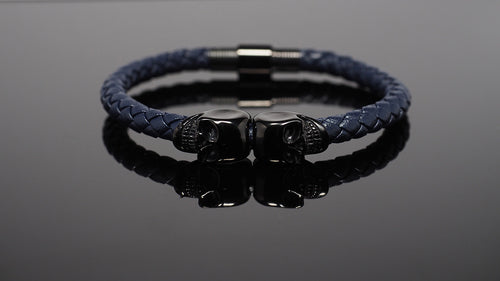 "Skull Bracelet for Men ""Poseidon"""