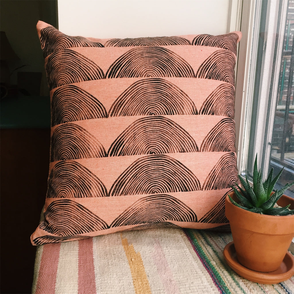Tree Ring Pillow