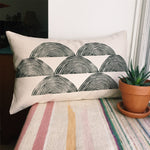 Tree Ring Lumbar Pillow