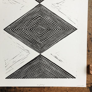 Subterranean Three Print