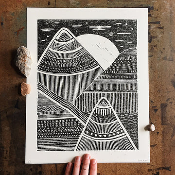 Mountain Sounds Print
