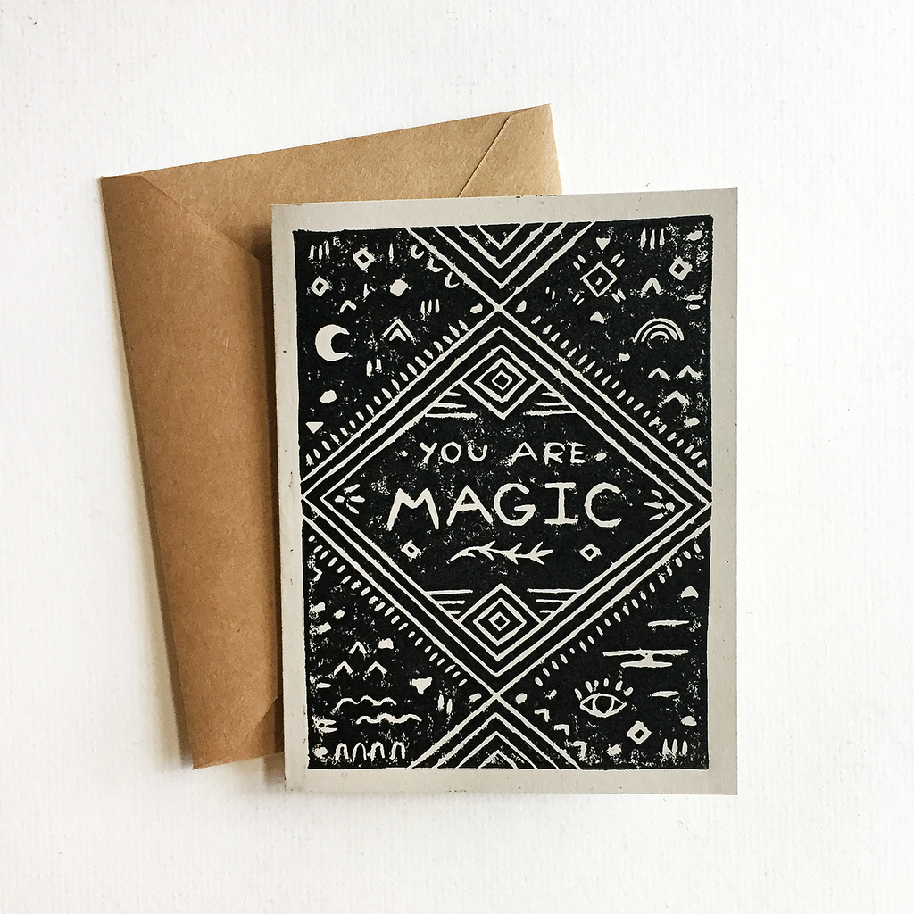You are magic greeting card land she you are magic greeting card kristyandbryce Images
