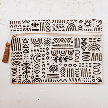 Hand-Drawn Pouch 6