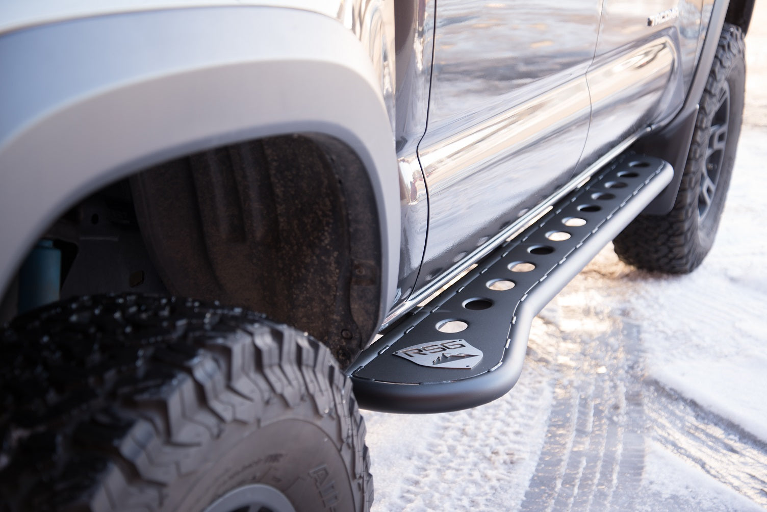 2016+ Toyota Tacoma Flat Sliders With Top Plate