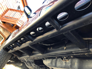 2003 - 2009 LEXUS GX470 ANGLED SLIDERS WITH TOP PLATE