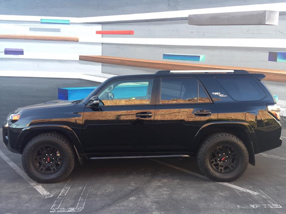 2010+ TOYOTA 4RUNNER ANGLED SLIDERS