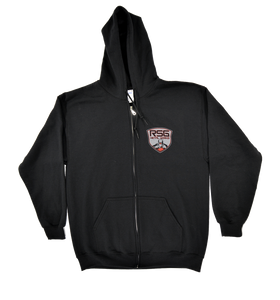 Black RSG Metalworks Zip Up Hoodie
