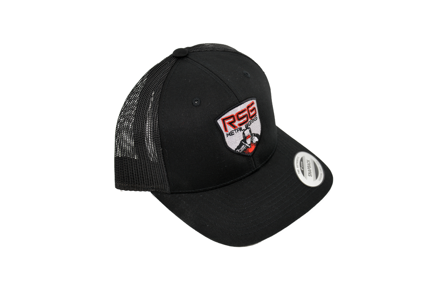 Black RSG Metalworks Trucker Hat