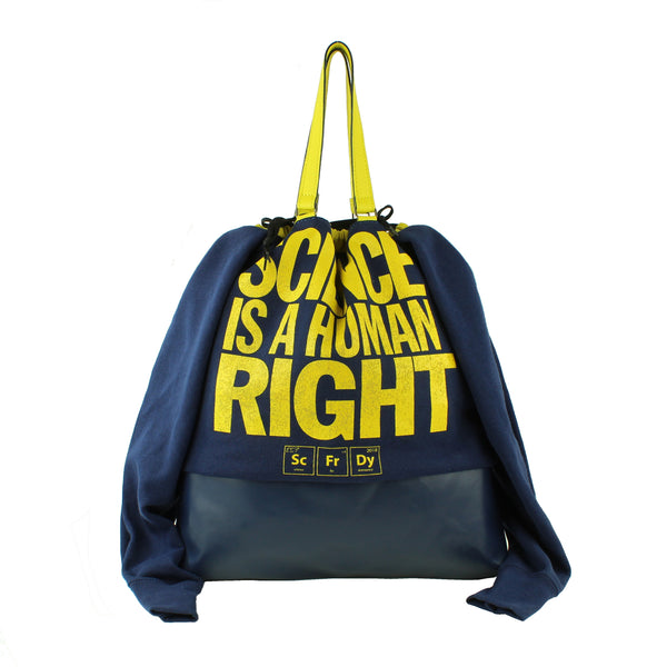 SWEATSHIRT BAG - BLUE