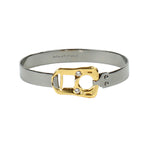 CAN TAB BRACELET - GOLD/DARK GREY