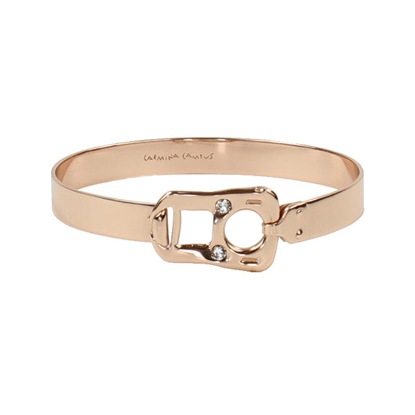 CAN TAB BRACELET - PINK GOLD