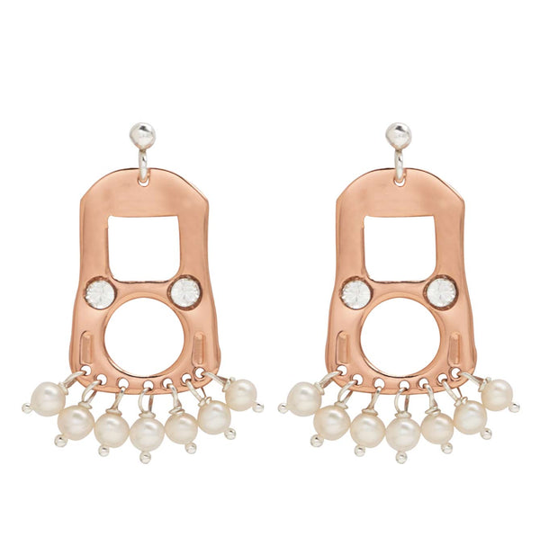 CAN TAB EARRINGS SML - PINK