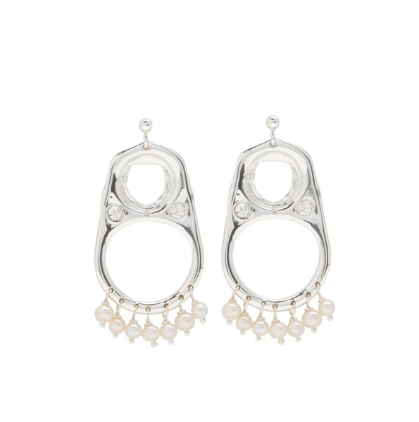 CAN TAB EARRINGS LRG - PLDM