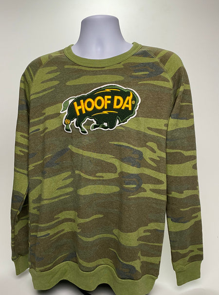 HOOFDA® Cotton Long-Sleeve Crew