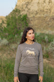 FJORD HORSE Long-Sleeve T-Shirt Unisex Adult