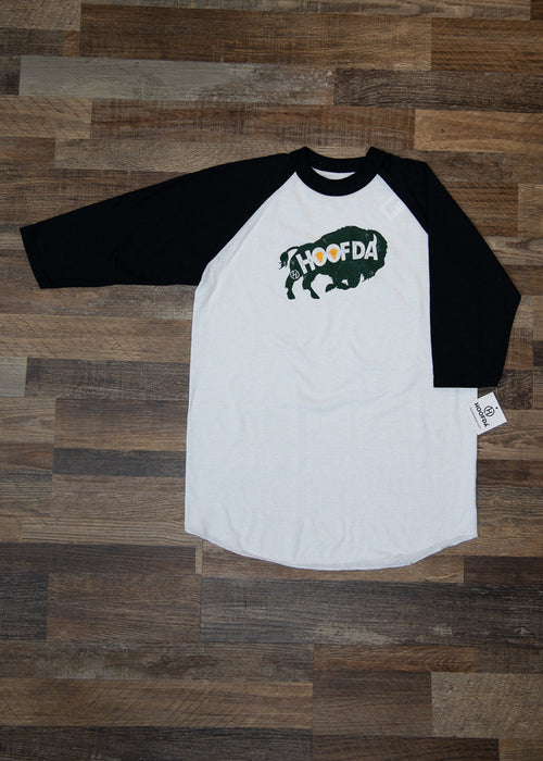 HOOFDA® Bison Head Baseball Jersey