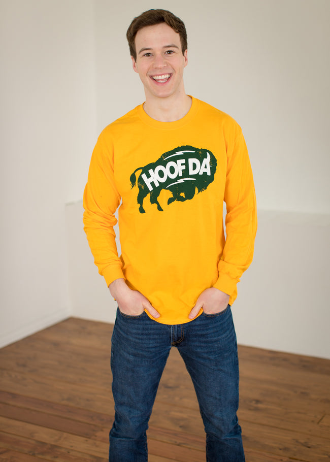 BISON Long Sleeve Crew Neck T-Shirt