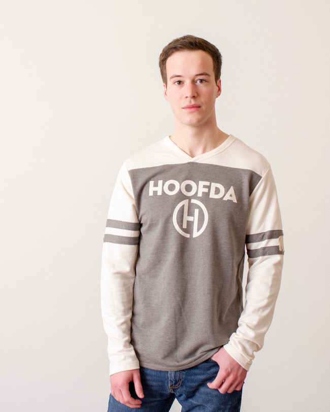 HOOFDA® Alternative  Mens v-neck Sweatshirt