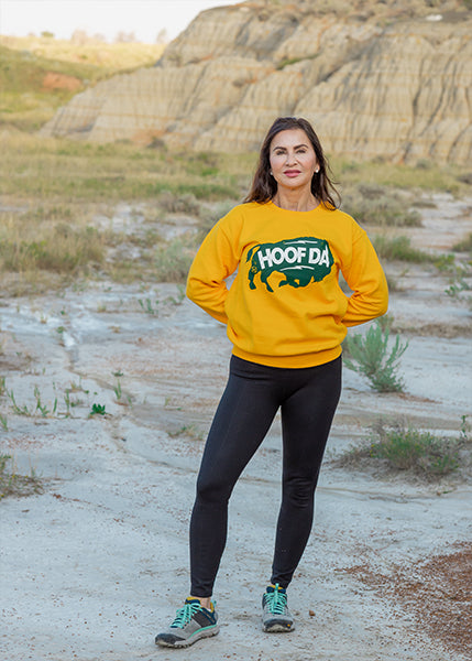 BISON Heavy Blend™ Fleece Crew Sweatshirt