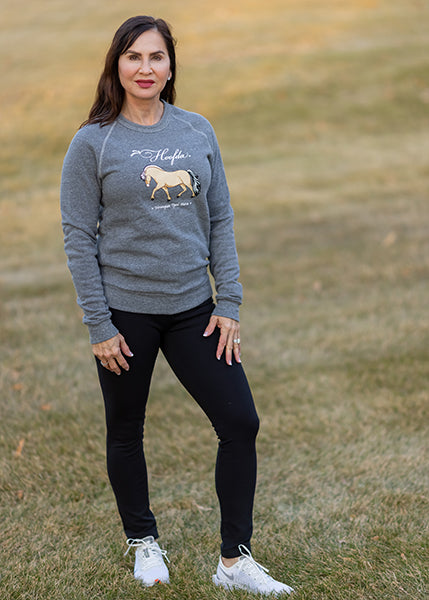 FJORD HORSE Fleece Sweatshirt