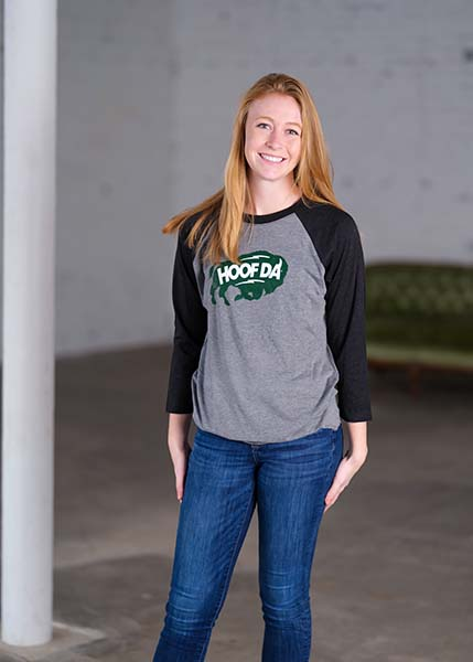 DALA HORSE Men's Long Sleeve Crew Neck T-Shirt
