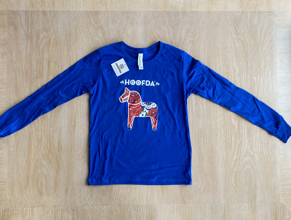 HOOFDA®  SWEDISH ARTSY DALA Long-Sleeve Tee