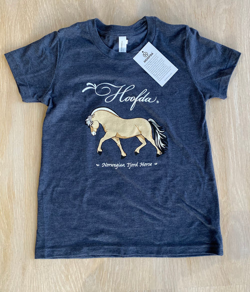 FJORD HORSE Short-Sleeve Youth T-Shirt