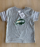 HOOFDA® Toddler Bison Head Football Tee