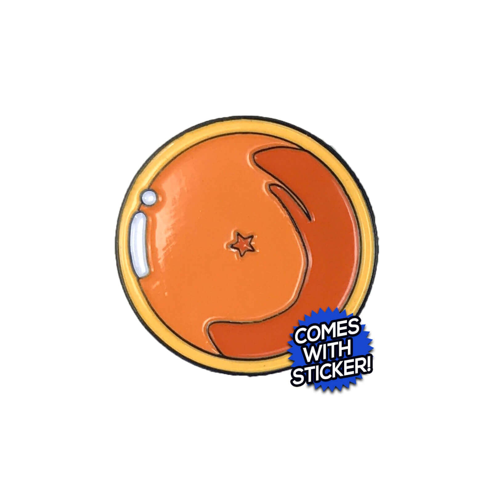 1 Star Dragon Ball Enamel Pin
