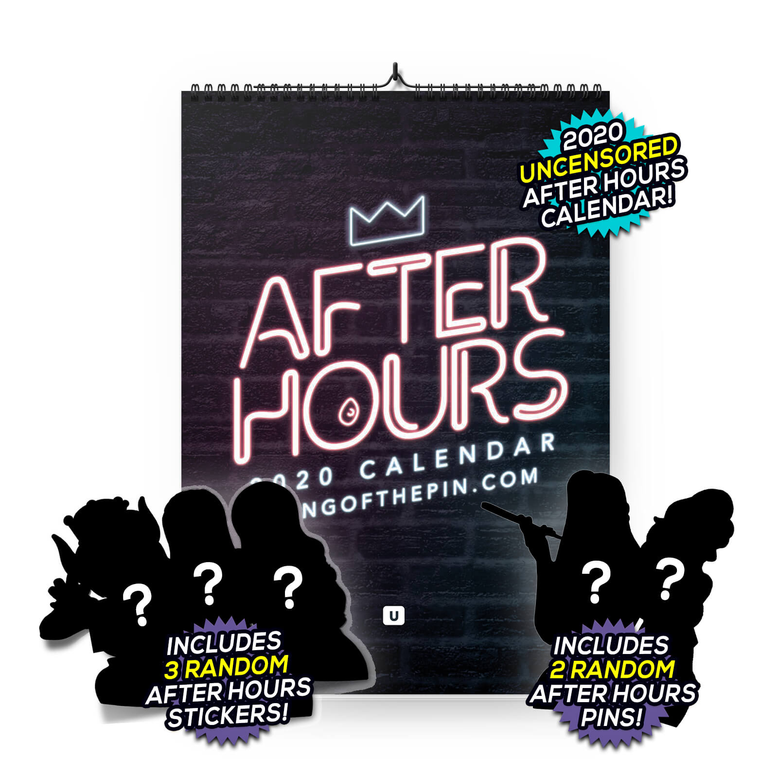 2020 After Hours (Uncensored) Calendar [DELUXE EDITION]