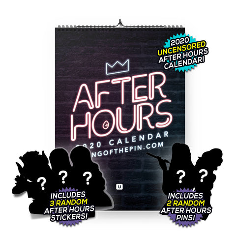 2020 After Hours (Censored) Calendar [DELUXE EDITION]
