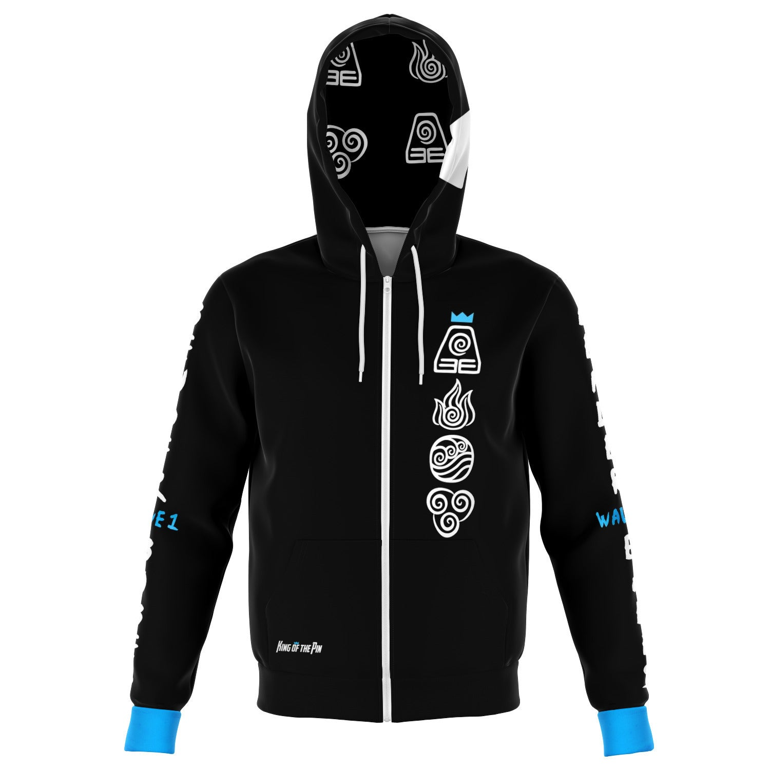 Bender Babes [Wave 1] (Black) Zip-Up Hoodie